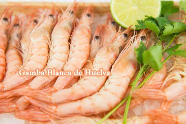 Gamba blanca de Huelva