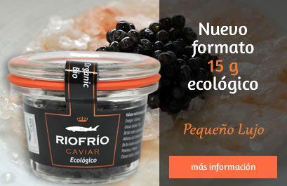 Caviar ruso en formato pequeño.