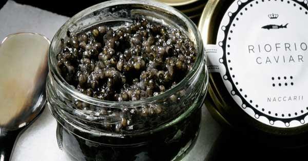 Caviar con certificación Sites