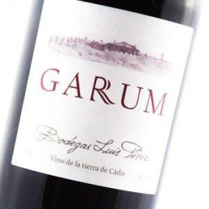 Vino tinto Garum de bodegas Luís Felipe.
