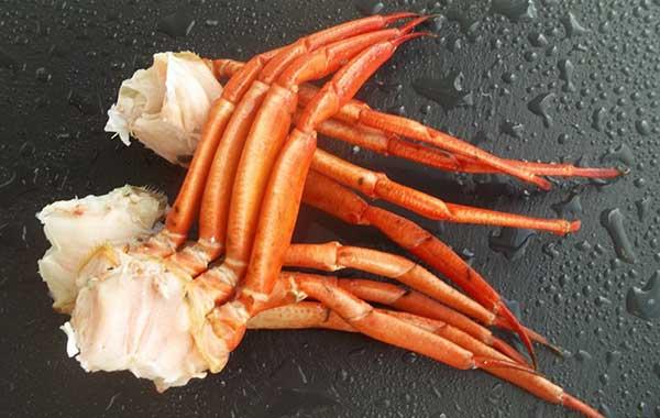Disfruta de nuestras patas rusas de cangrejo al mejor precio