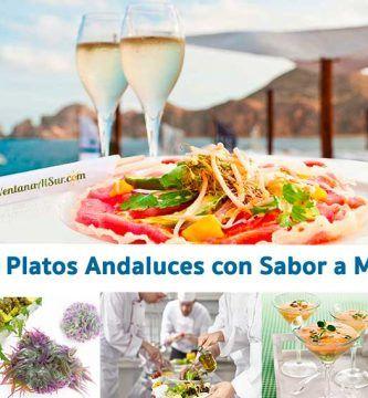 Platos con sabor a mar