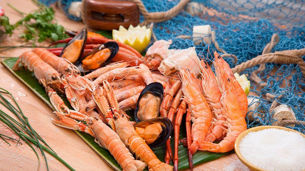 Comprar marisco de mar al peso online.