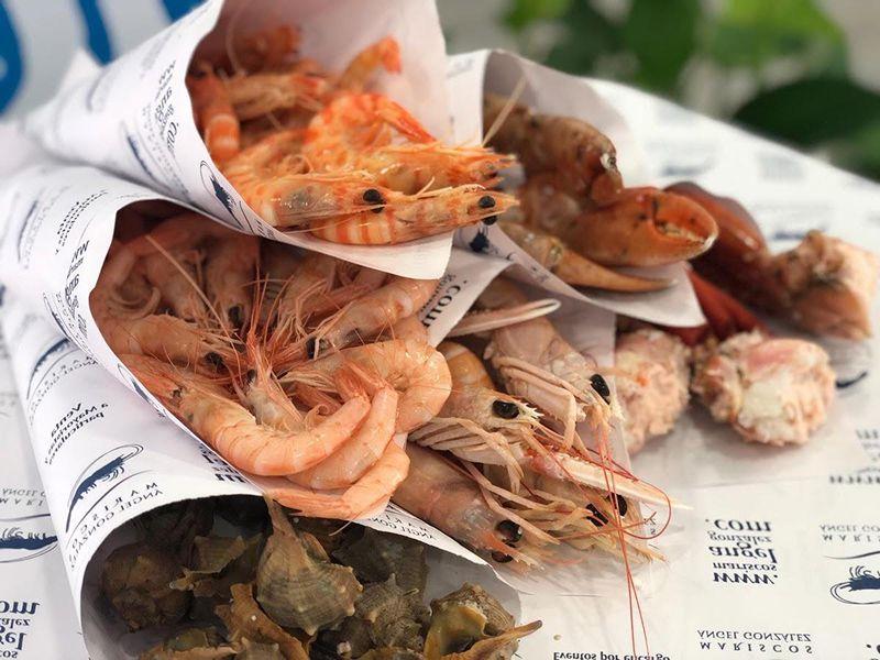Donde comer buen marisco en cadiz.