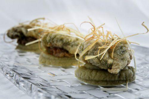 Cocinar ortiguillas con alcachofas.