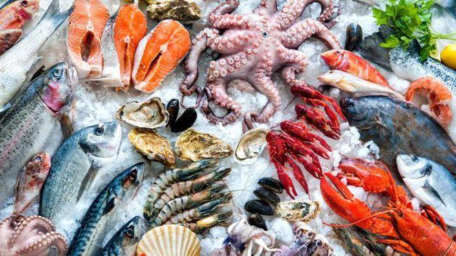 Pescados con más proteínas.