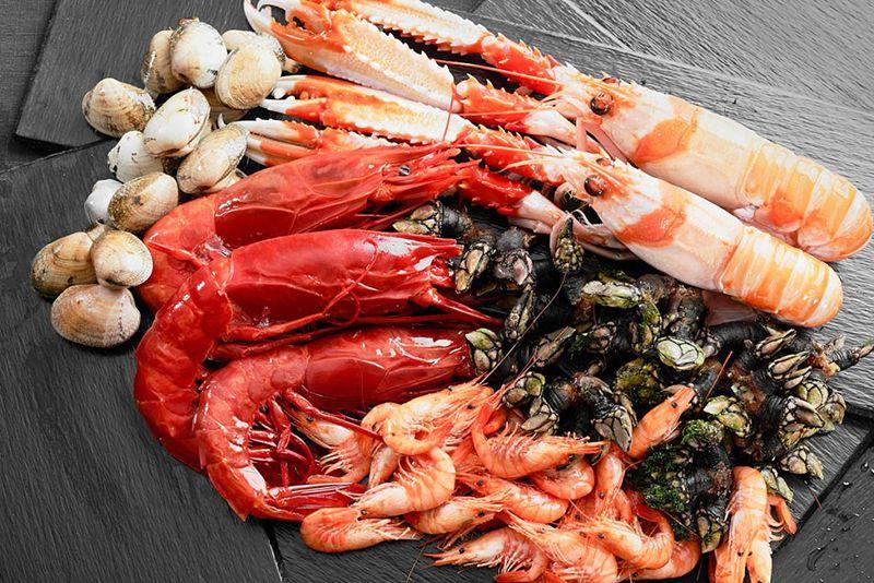 Donde comer marisco en Asturias.
