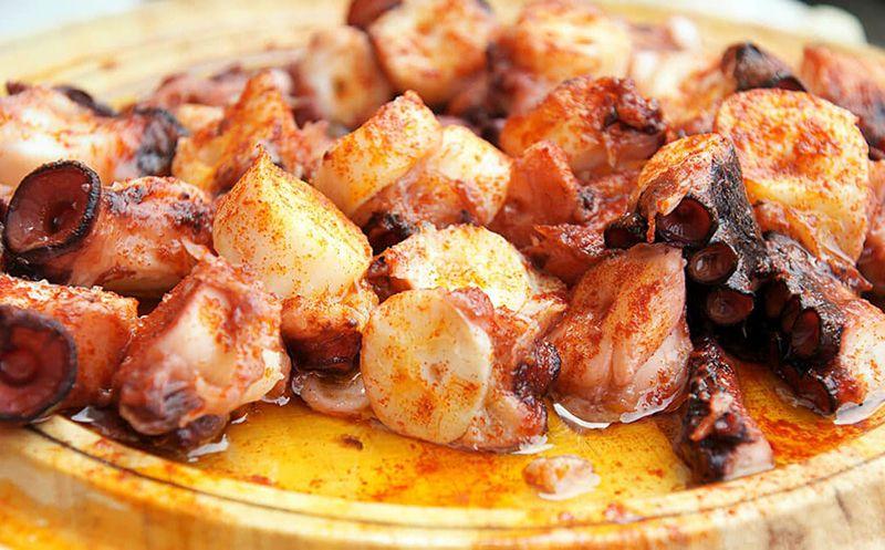 Restaurante para comer pulpo a la gallega