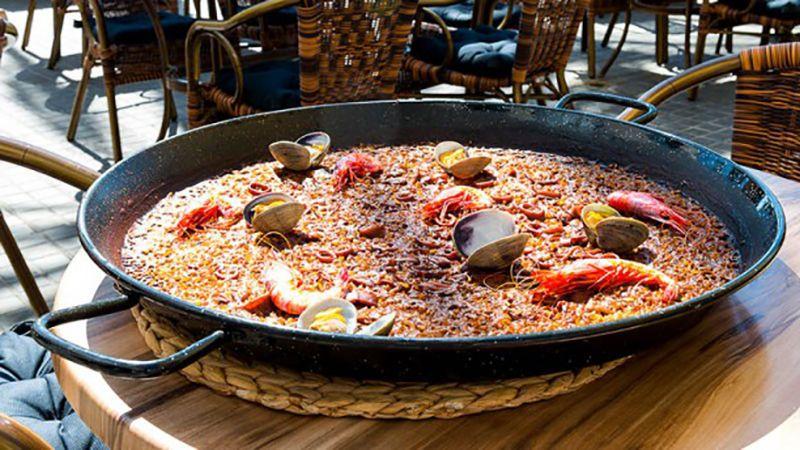 Donde comer na paella buena en Barcelona.