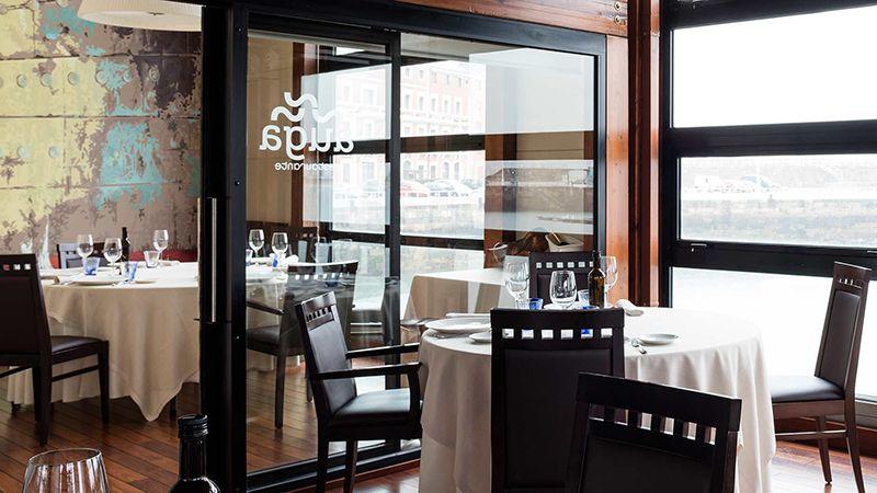 Restaurante de Asturias Auga para comer marisco.