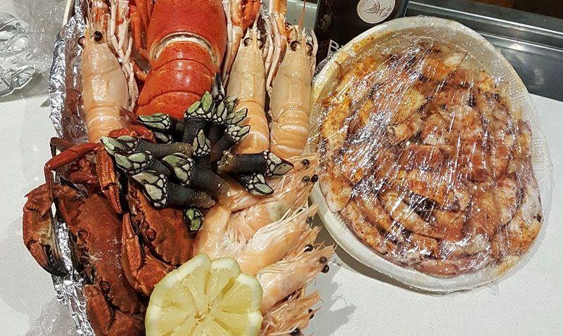 Come mariscos en El Emperador en Ávila