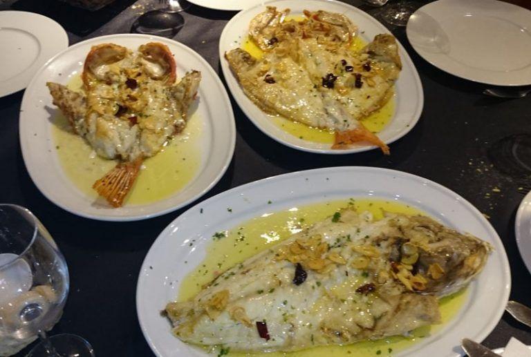 Comer marisco en La Casita de Sabino