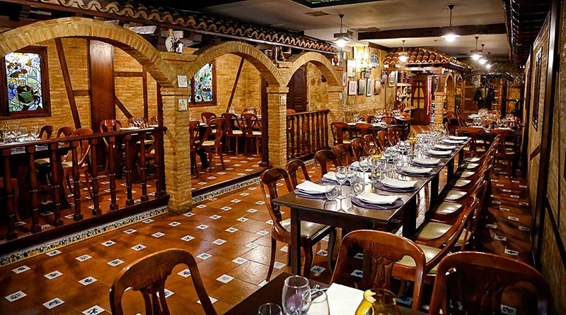 Meson Nazareno y Oro, arquitectura de antaño