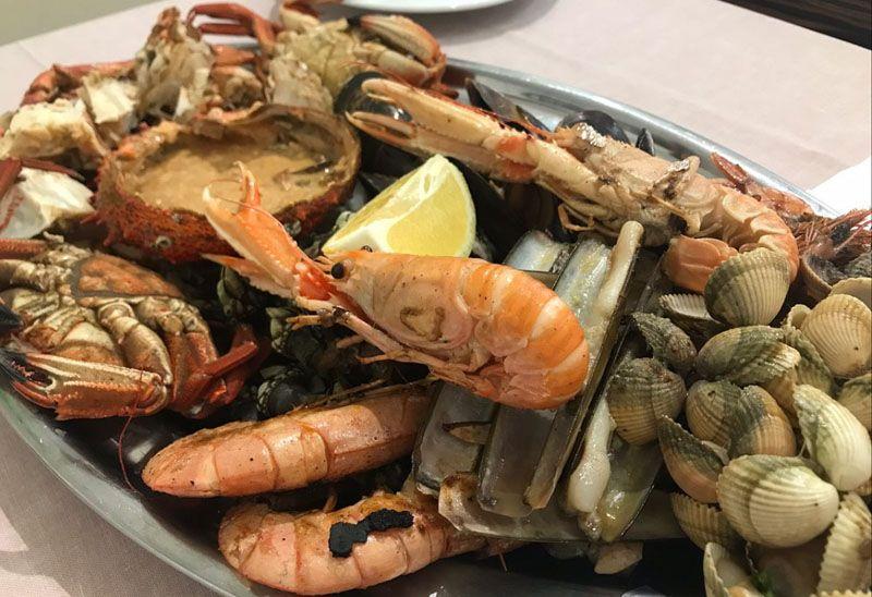 Restaurante de comida marina