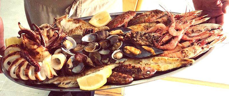 Dónde comer marisco Arroceria La Lonja, Almería