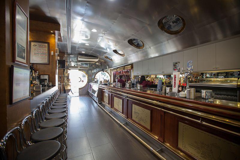 Un lugar especial, restaurante Galaxia