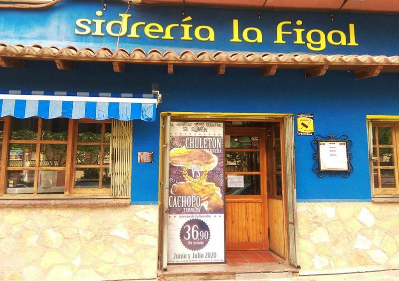 Sidrería y cocina asturiana en Cuenca