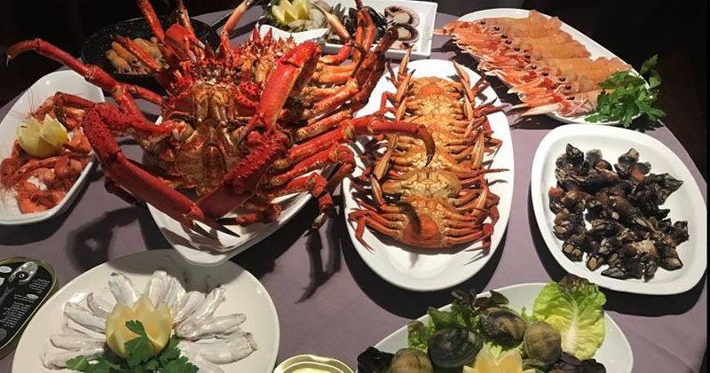 comer marisco en La Sarten de Coruña