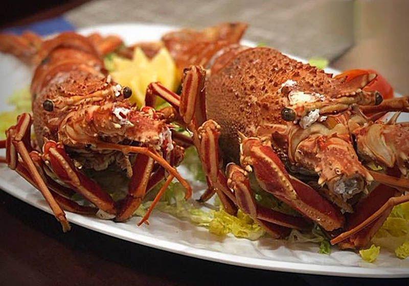 Deliciosos mariscos en Cantina La Piedra