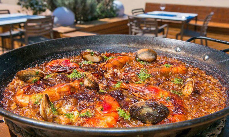 Copas, lugar para comer marisco en Castellón