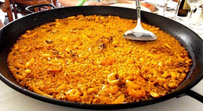 El mediterraneo un lugar donde comer marisco en Castellón