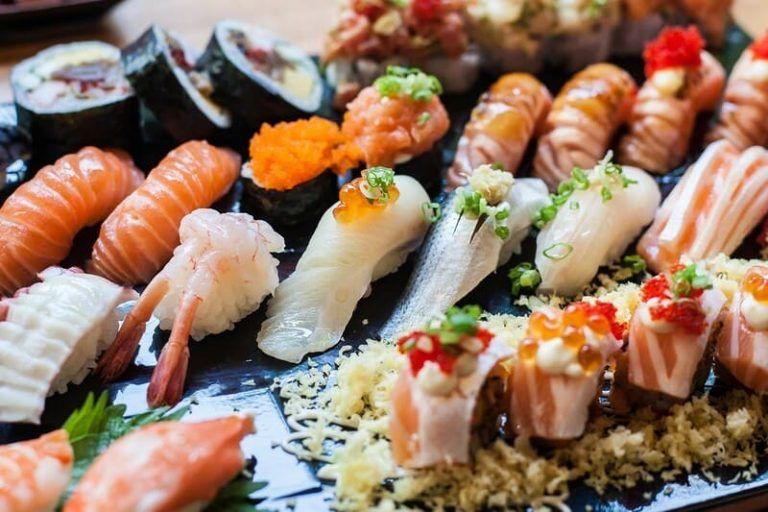 Mariscos en Arume Sushi
