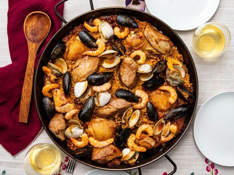 Donde comer mariscos en Navarra