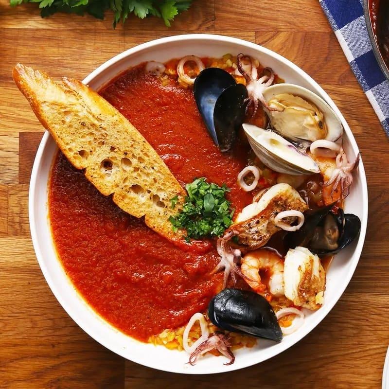 Platos del Restaurante Los amantes en Teruel
