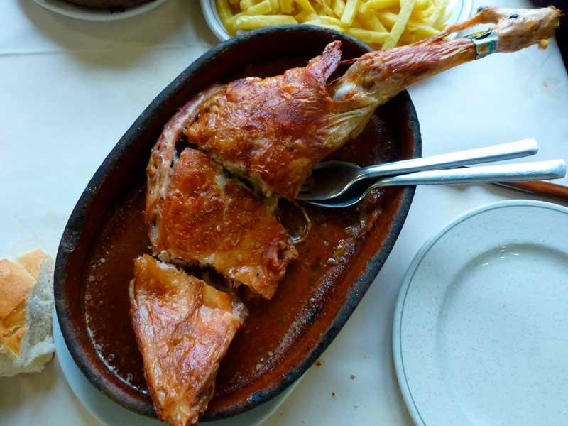 Asado, gastronomia de soria