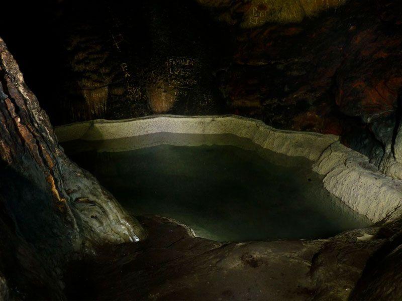 Bañera de la reina en Soria