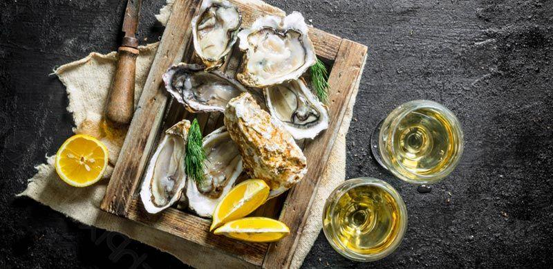 degustar toda clase de marisco fusionado con productos frescos
