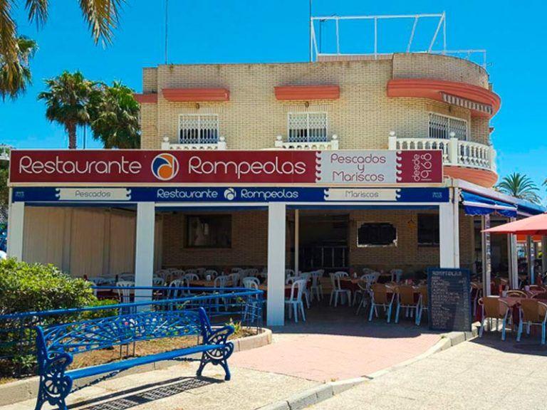 Restaurante Rompeolas Málaga