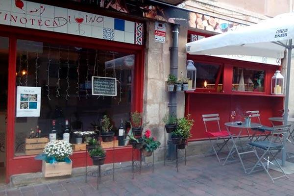 Vinoteca libro Di Vino en Soria