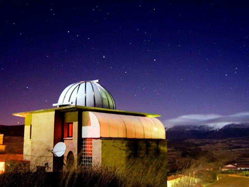 observatorio astronómico El Castillo en soria