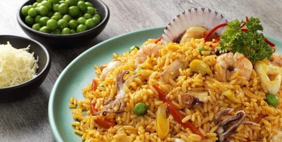 Conoce esta deliciosa receta de arroz con mariscos al estilo panameño