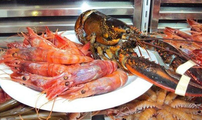 Donde comer mariscos en Almería