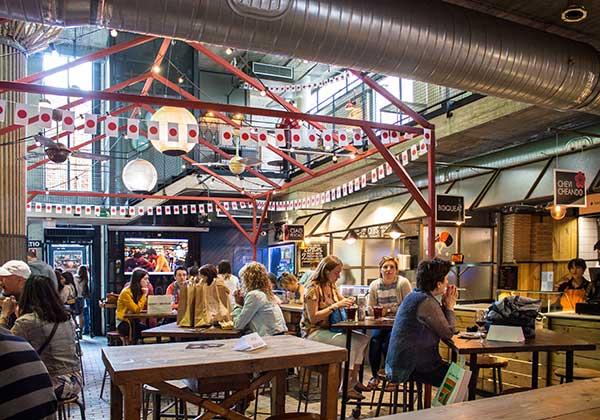 Mercado de San Ildefonso