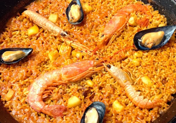 Restaurante arrocería valencia