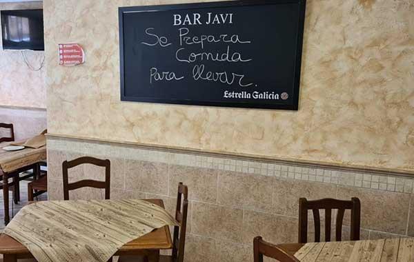Bar Javi en Palencia