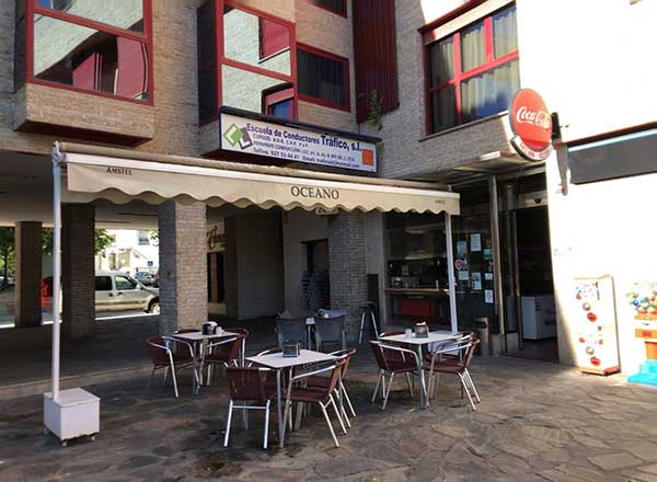 Cafetería Océano en Cáceres