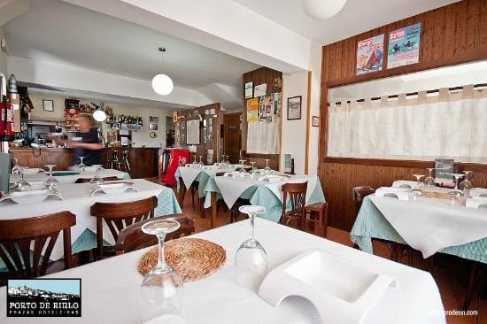 restaurante porto do rinlo