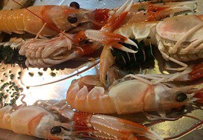 Dónde comer marisco en Almería: Barrio Alto