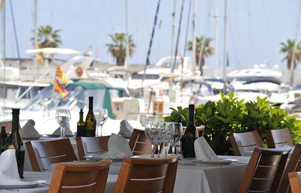 Restaurante La Concha en Sitges
