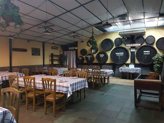 restaurante sidrería