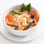 Sopa de pescado y gambas