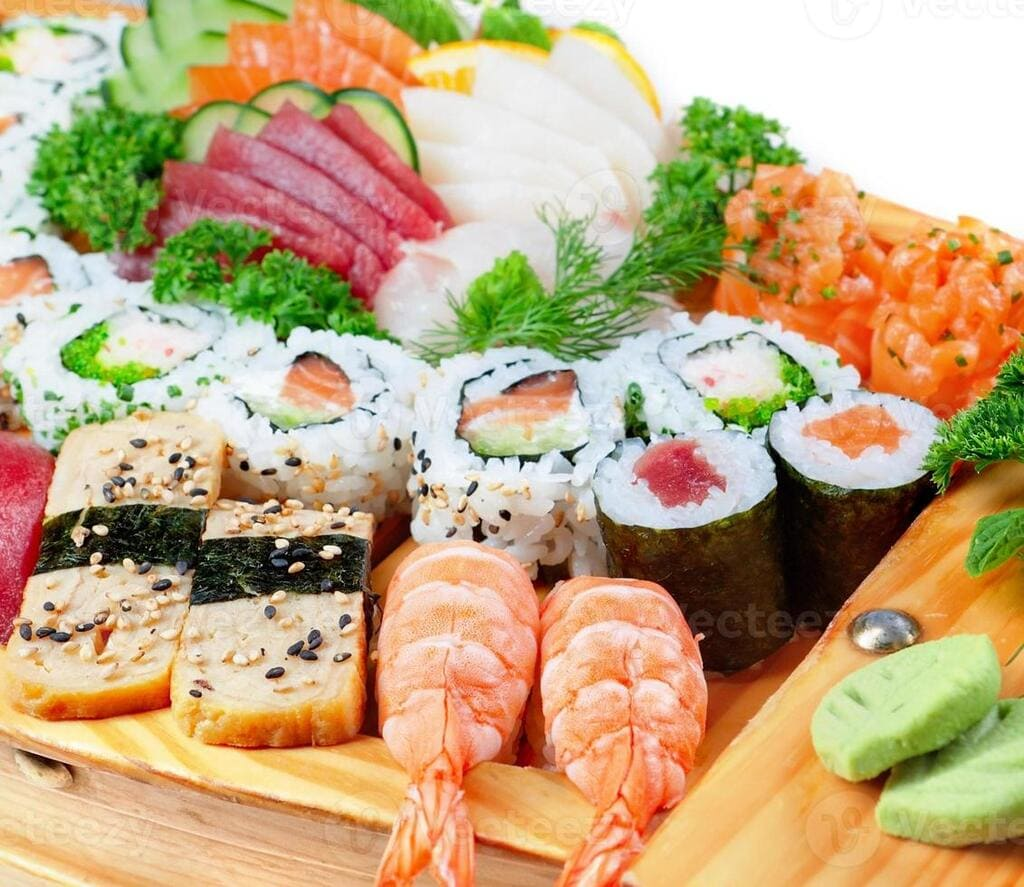 sushi de mariscos