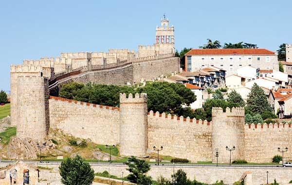Vista la ciudad de Ávila