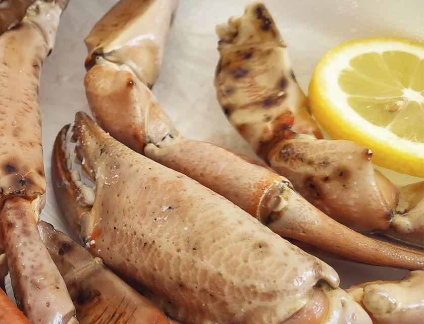 mariscadas de bocas de cangrejo
