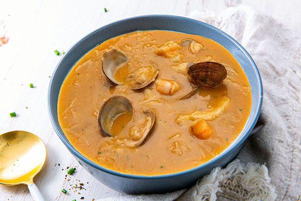 sopa de berberechos