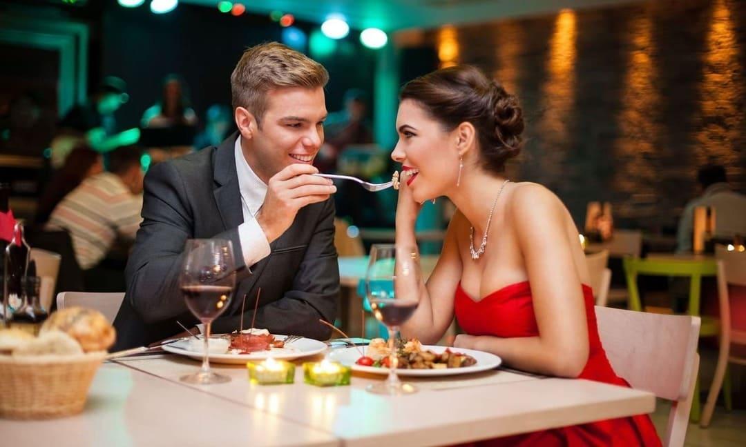 cena restaurante romantico